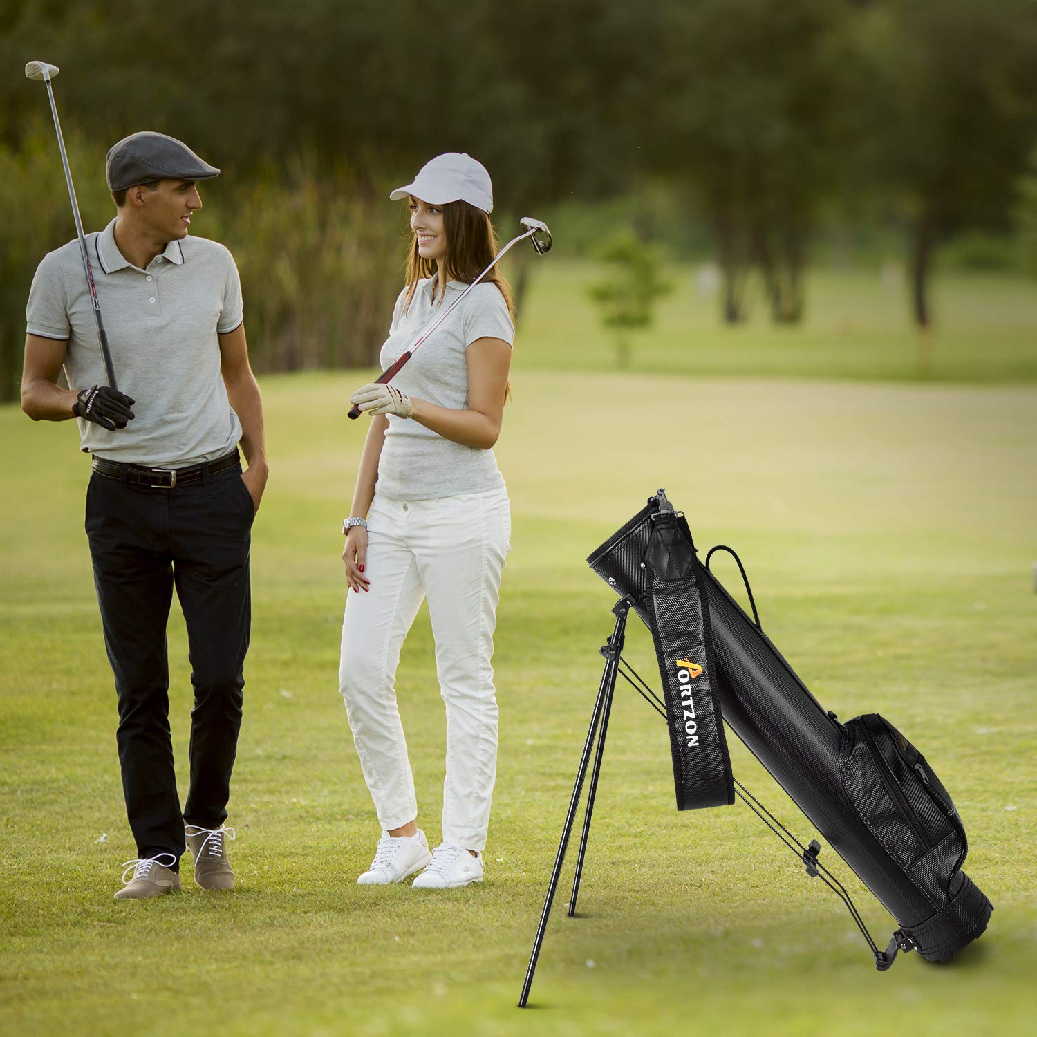 Portzon Golf Stand Bag ONLY $4...