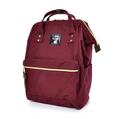 21a02d8c38b Amazon.com: Anello Official Ruby Red Japan Fashion Shoulder Rucksack  Backpack Hand Carry Tablet Diaper Bag Unisex: Shoes