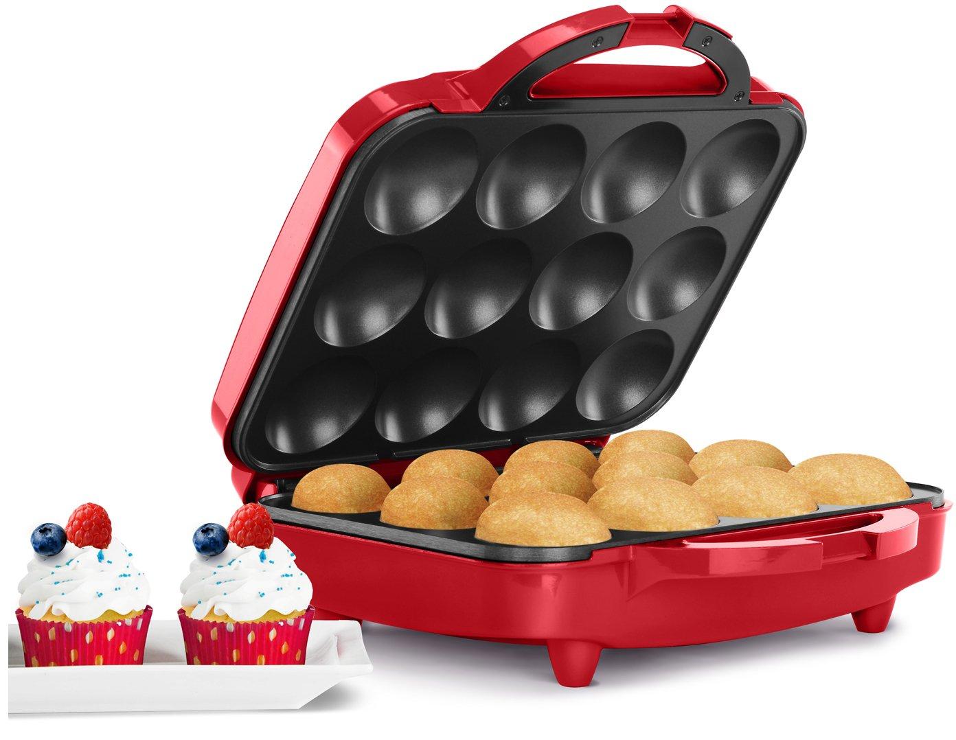 Holstein Housewares HU-09006R Cupcake Maker, Red