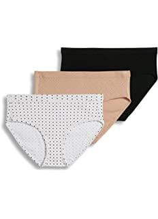 6341006b4397 Jockey Women's Underwear Plus Size Elance Hipster - 3 Pack at Amazon ...