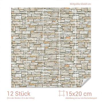 Graz Design X Fliesenaufkleber Stein Mauer Optik - Fliesen kaufen graz