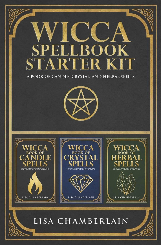 Wicca Spellbook Starter Kit Crystal product image