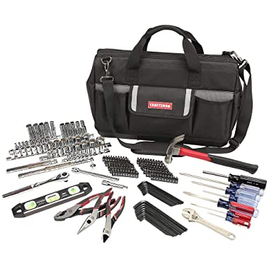 Craftsman 230pc Mechanics Tool Set With Tool Bag