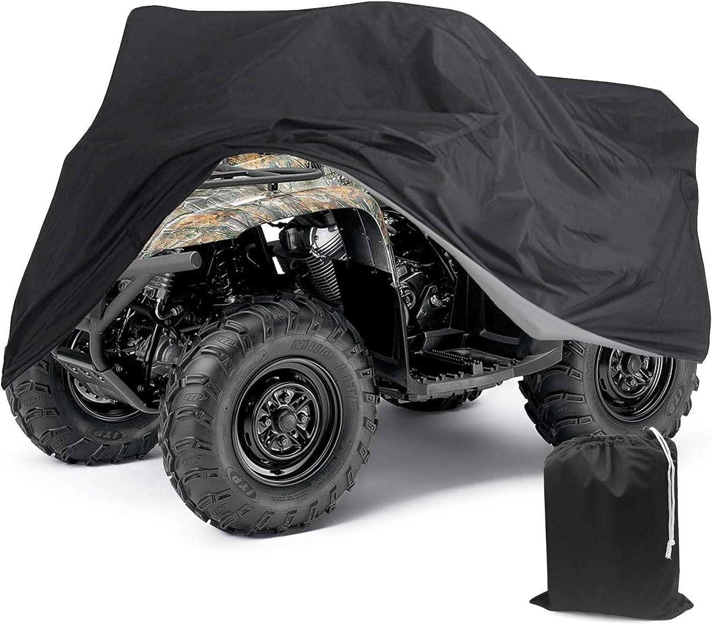 Tokept Black ATV Cover