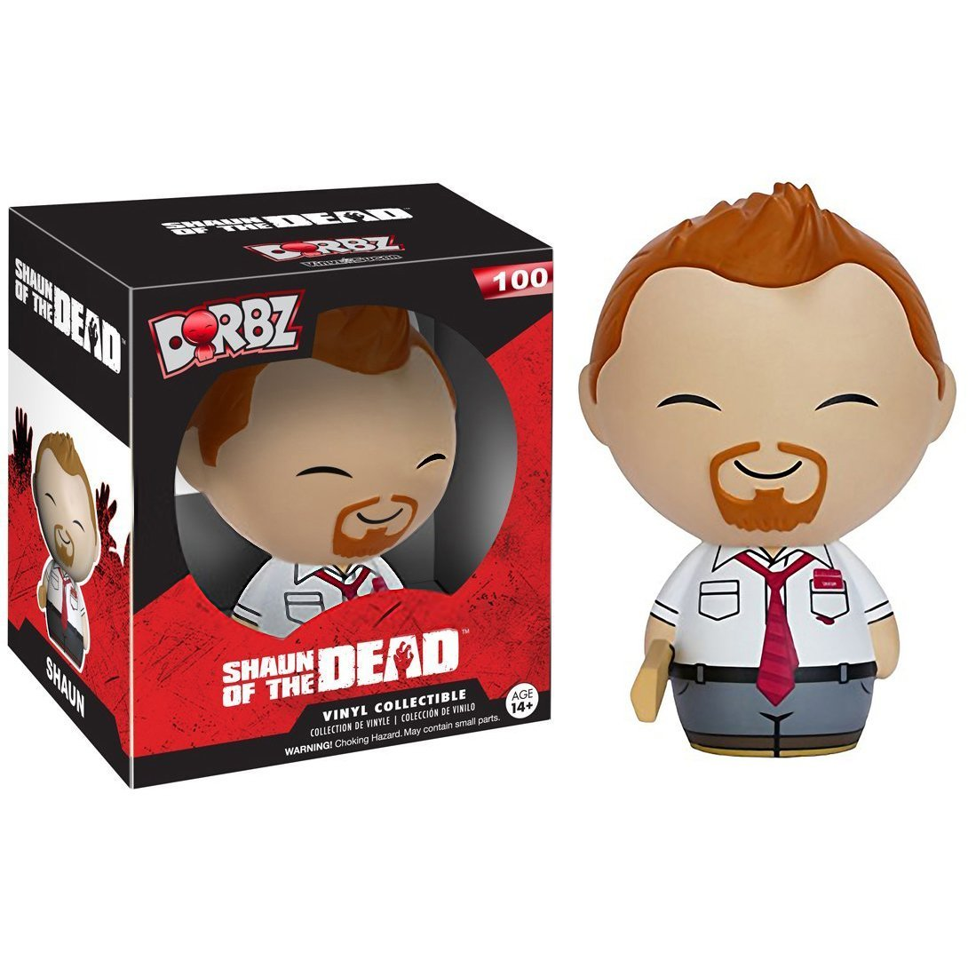 BCC9R3006 1 FREE Classic Horror /& Sci-fi Movies Trading Card Bundle 069971 Shaun: Funko Dorbz Horror x Shaun of the Dead Mini Vinyl Figure