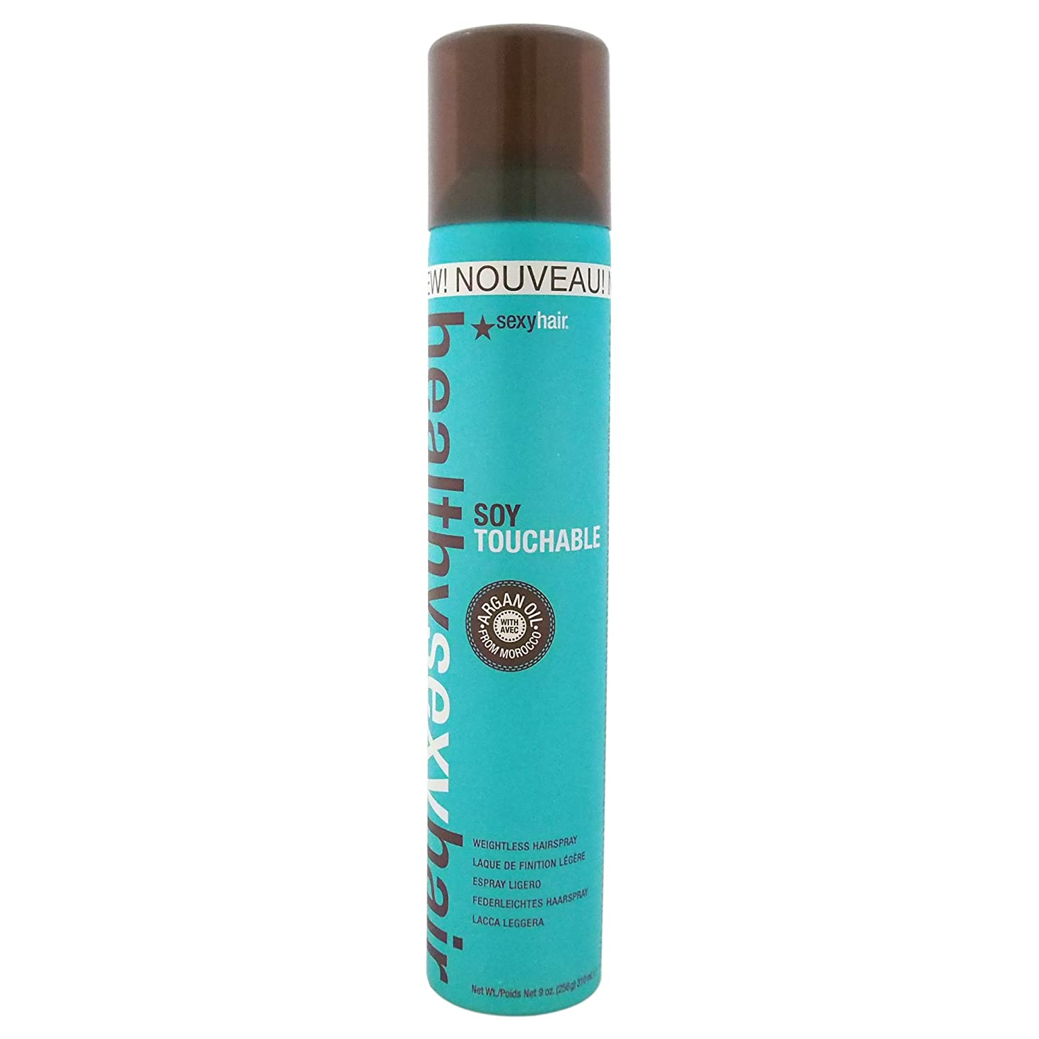 sexyhair Soy Touchable No Crunch Hairspray, 1er Pack (1 x 300 ml) S2028