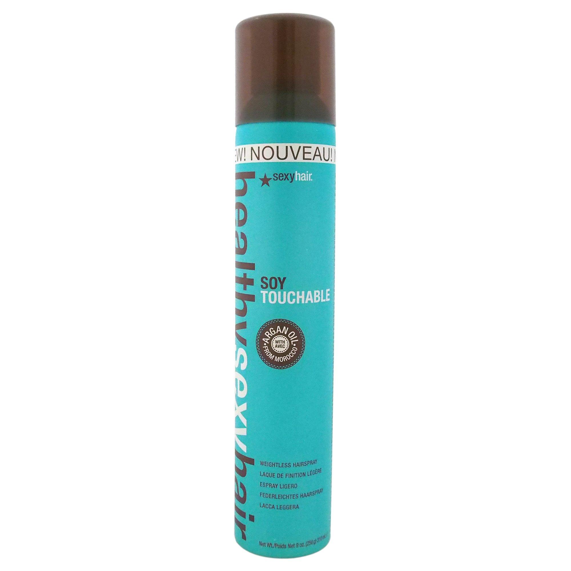 Sexy Hair Healthy Sexy Hair Soy Touchable Hair Spray for Unisex, 9 Ounce