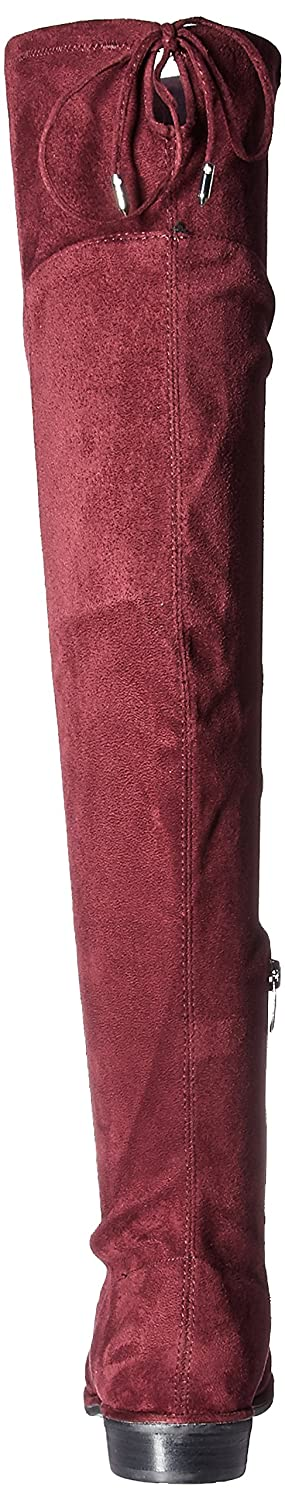 Marc Fisher Women's Hulie Over The Knee Boot B072K69F7F 6.5 B(M) US|Burgundy