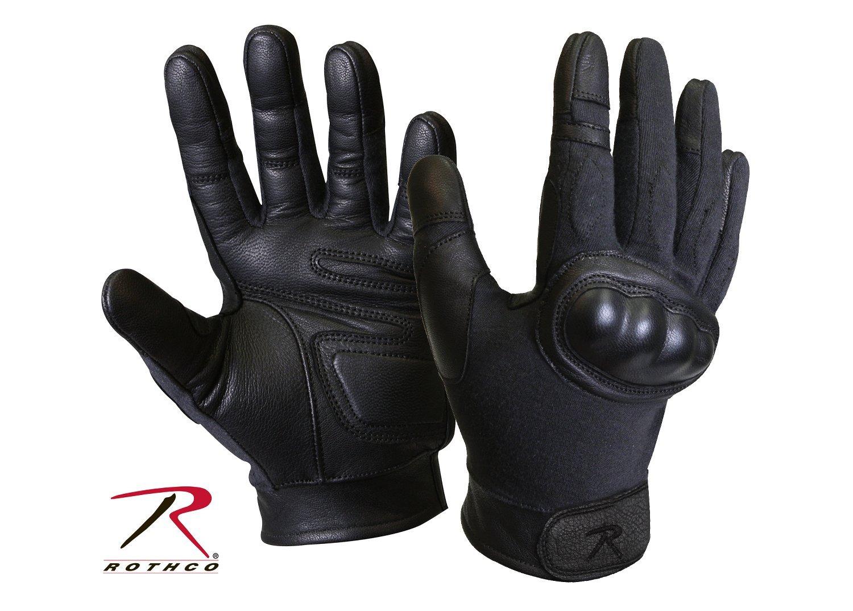 Black tactical gloves - Black Tactical Gloves 9
