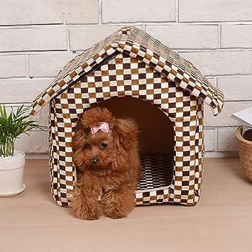 Segle Cama portátil para Perros y Gatos diseñada para Perros y Gatos pequeños, Suave,