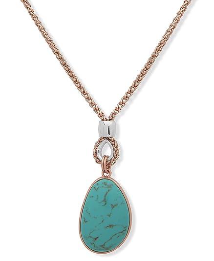 a579011461f9 Napier Collar Oro Rosado para Mujer