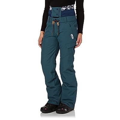 Picture Organic Treva Womens Snowboard Pant 8 Reg Petrol Blue