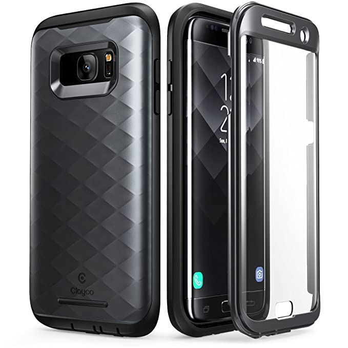 amazon com galaxy s7 edge case, clayco [hera series] full bodyimage unavailable image not available for color galaxy s7 edge case
