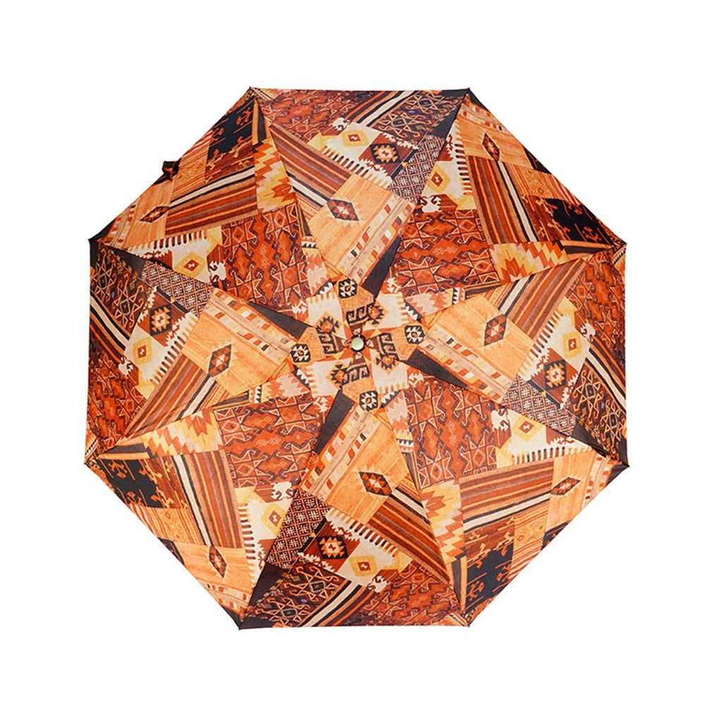 JSSFQK 超軽量ミニ折りたたみ傘男性と女性の雨と雨の傘防風傘 傘 (色 : C) B07QJVCBFK C