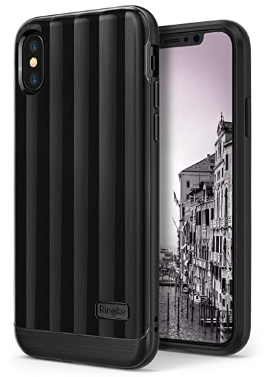 huge discount a3fdf bde4c Ringke [Flex S PRO] Compatible with iPhone X, iPhone 10, Advanced Support  Wireless Charge Glossy Premium Finish Optimized Coating Shock Protection ...