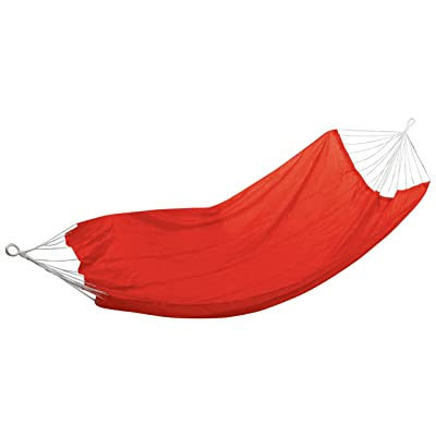 Stansport Malibu Packable Nylon Hammock, Red, 85 x 59-Inch: Sports & Outdoors