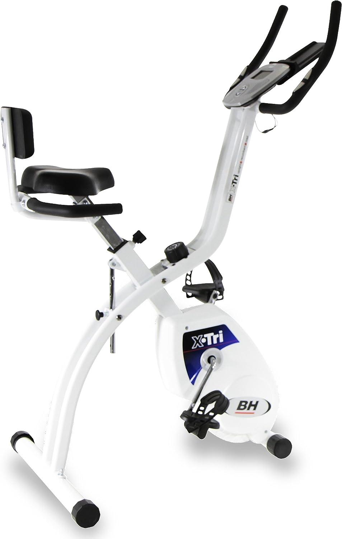 BH Fitness X.Tri H170 bicicleta estática plegable 3 en 1: Trabaja ...