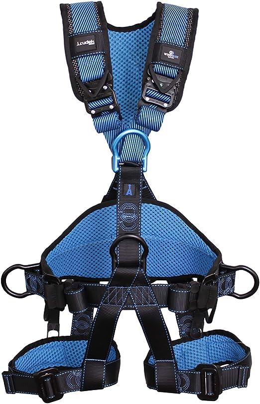 Irudek 100409900006 Arnés anticaídas Wind Blue 3 (S/M), Azul ...