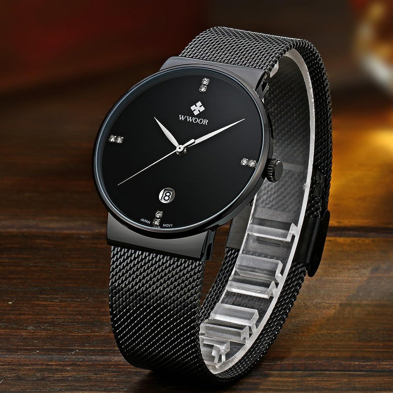 6 relojes de hombre para lucir con estilo en cualquier for Relojes de salon modernos
