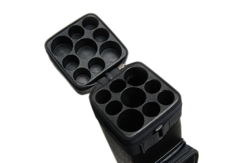 3B6S 3x6 ビリヤードキューハードケース - ビリヤードスティック キャリーケース - バット3本 シャフト6本 B071F9XF7K