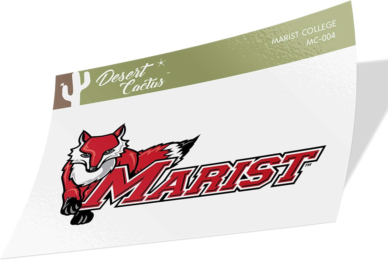 Marist College Red Foxes NCAA Vinyl Decal Laptop Water Bottle Car Scrapbook (Sticker - 004)
