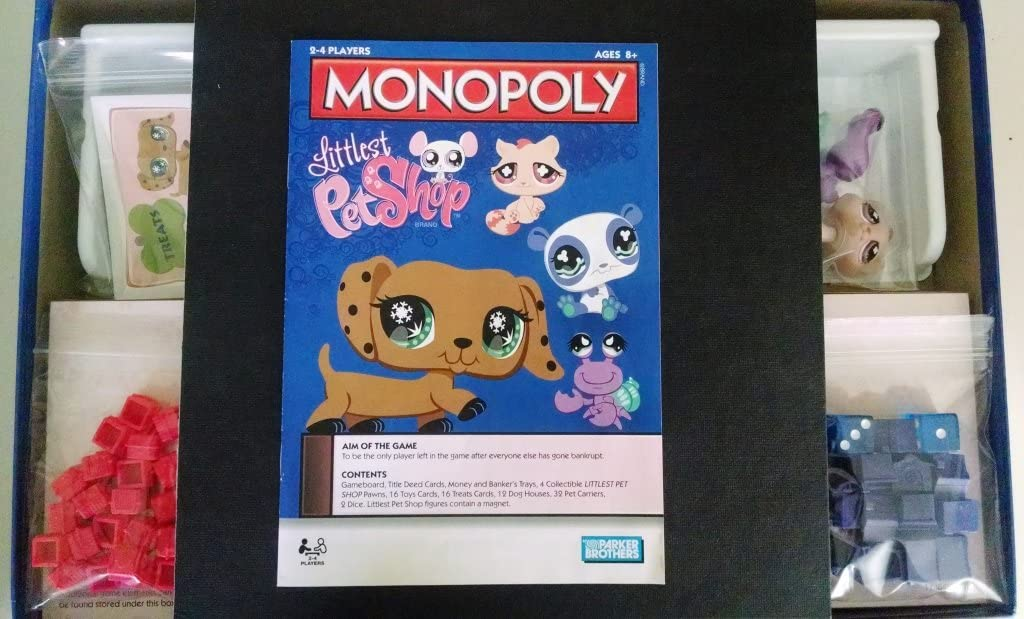Monopoly Littlest Pet Shop: Amazon.es: Juguetes y juegos