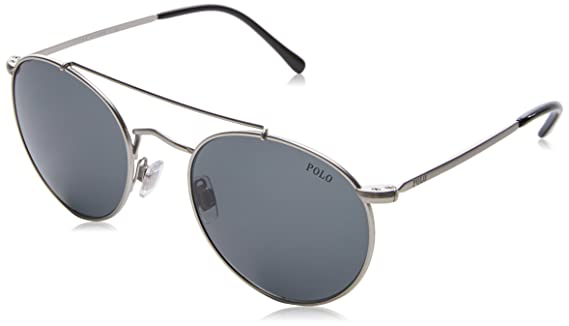 Amazon.com: anteojos de sol Polo PH 3114 932687 semishiny ...