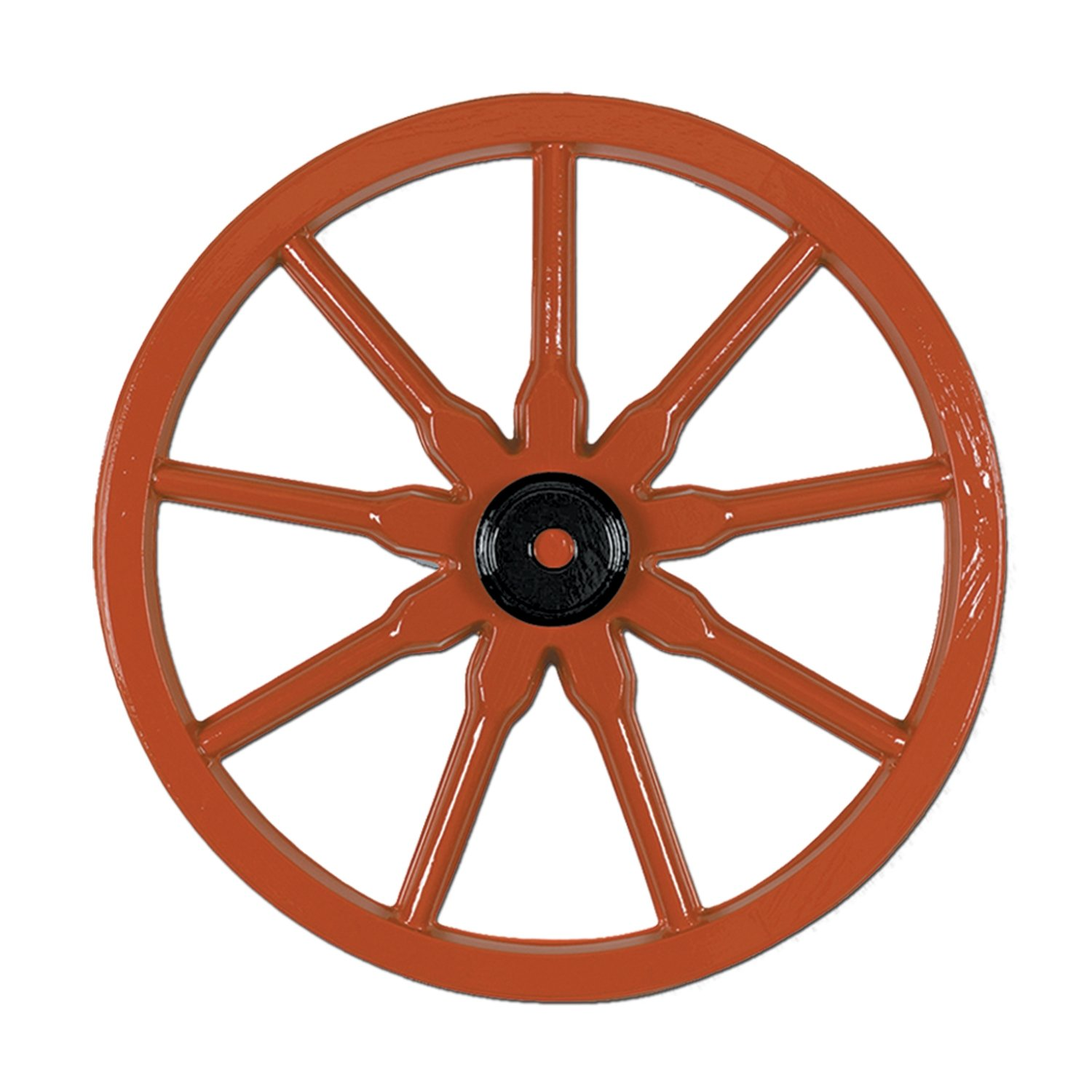 Beistle 55570 24-Pack Plastic Wagon Wheel, 23-Inch by Beistle