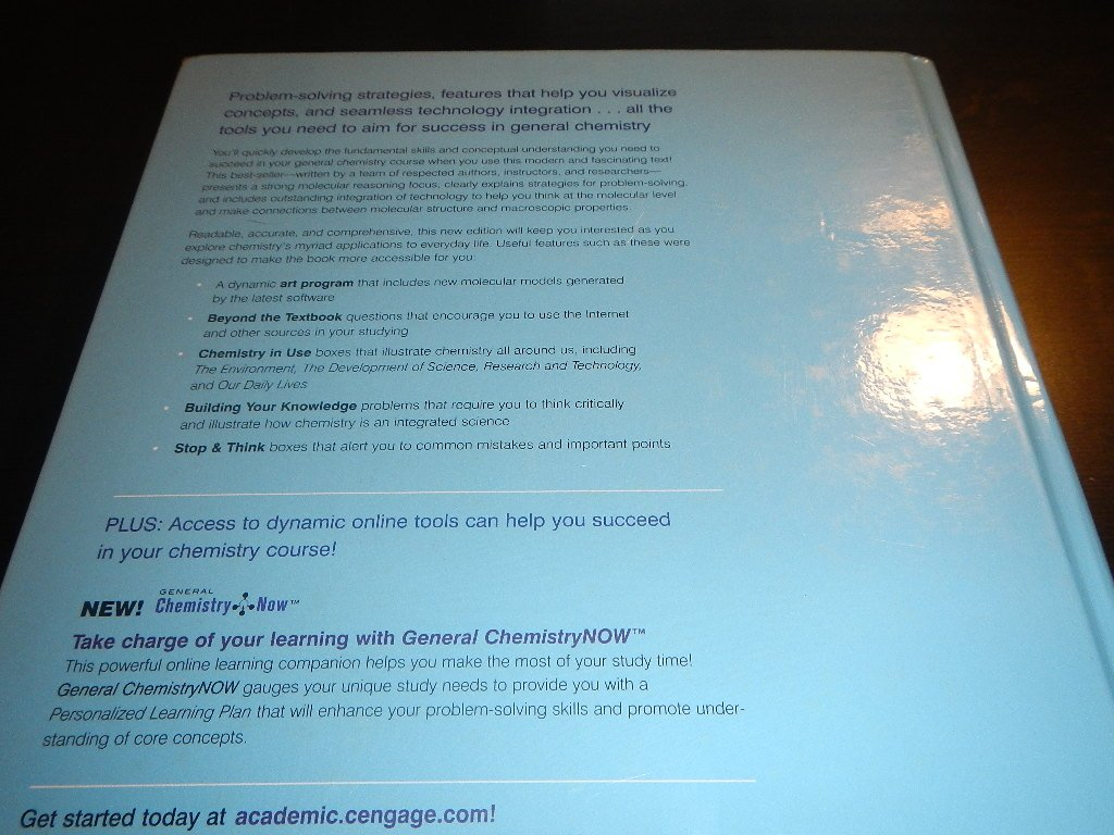 chemistry 8th edition u com books