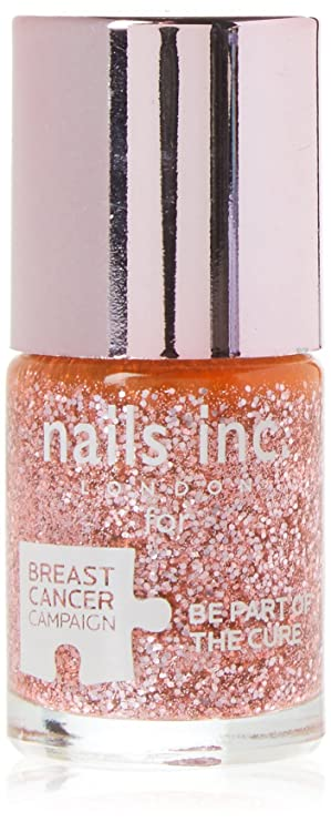f439589ee5535 Nails Inc Poppy Delevingne Pinkie Pink Polish