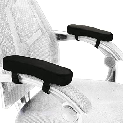 2pcs Chair Armrest Pads Ultra-soft Memory Foam Elbow Pillow Support Universal Fit For Home Or Office Chair For Elbow Relief With A Long Standing Reputation Furniture