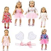 "axxxt 11PC American girsl Doll Unicorn Doll American girsl Unicorn Doll Accessories Outfits Fits 18"" Unicorn Doll Clothes American girsl Unicorn Doll Clothes 18 inch American girsl Doll Unicorn"