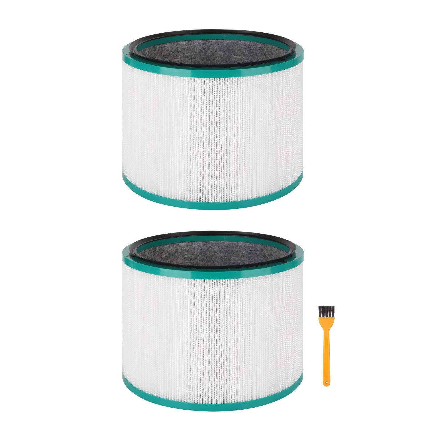 Colorfullife 2 Pack Replacement HEPA Filter for Dyson Desk Purifier for Dyson Pure Cool Link Desk, for Dyson Pure Hot + Cool Link, Replaces Part 968125-03