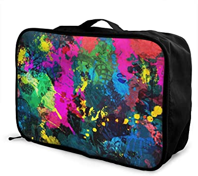 Travel Duffel Bag Casual Large Capacity Portable Luggage Bag
