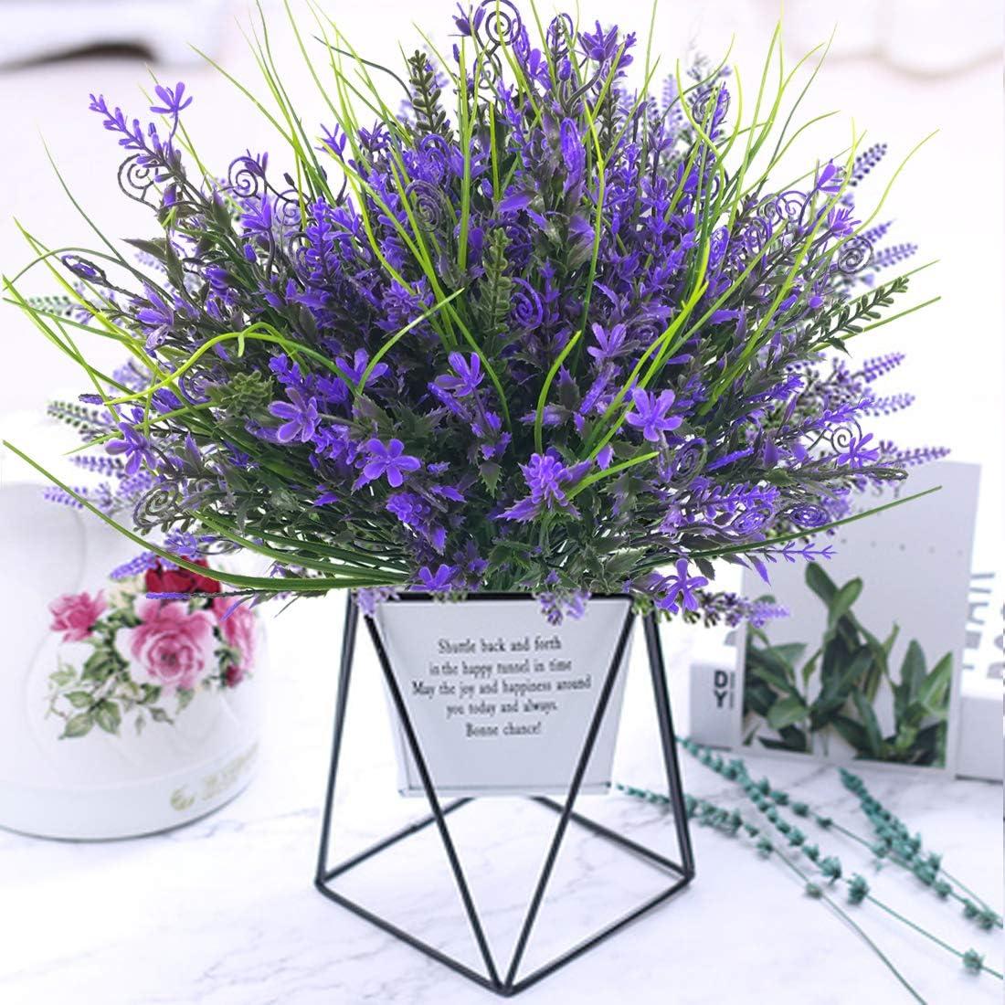 Amazon Promo Code for 6 Bundles Artificial Flowers Outdoor UV Resistant