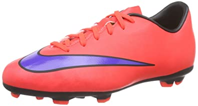 Nike JR Mercurial Victory V FG (651634-690), Orange, 36.5