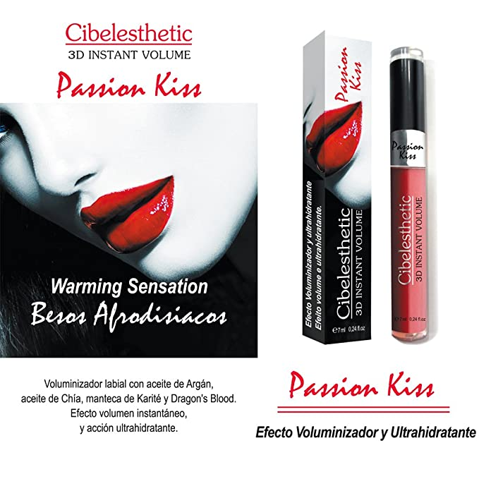 Pack 3 uds. de Voluminizador Labial 3D Passion Kiss 7ml ...
