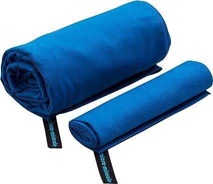 Small Microfibre Beach Bath Hand Towel Sport Travel Gym Lightweight 30x110cm GG