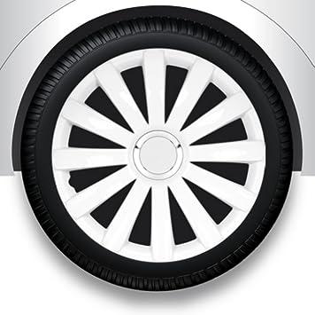 Radzierblenden Radkappen Radabdeckung 13 Zoll 32 Weiß Abs Auto