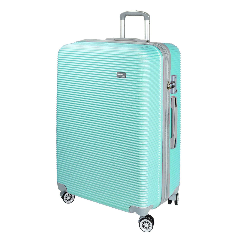 【神戸リベラル】 BAGING 軽量 拡張ファスナー付き S,M,Lサイズ スーツケース キャリーバッグ 8輪キャスター TSAロック付き B07BLRNKSC Lサイズ(長期用 85/95L)|ミントグリーン ミントグリーン Lサイズ(長期用 85/95L)