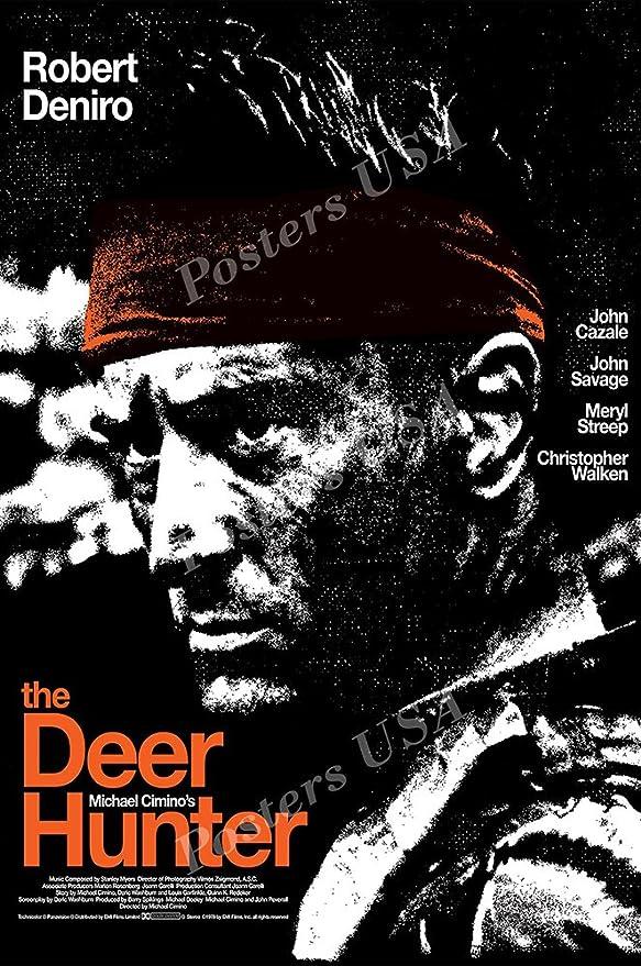 1978 Robert De Niro movie poster print 5 The Deer Hunter