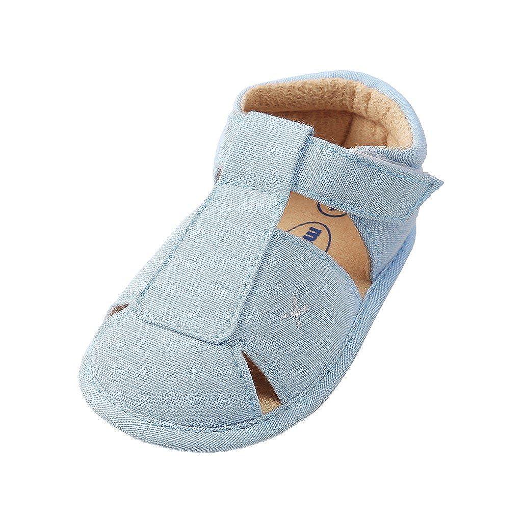 Zapatos de bebé por 3-18 Meses, Auxma Sandalias de niños, Zapatos Antideslizantes para bebés, Zapatos únicos de Verano para niños,Primeros Pasos Auxma Sandalias de niños Zapatos Antideslizantes para bebés