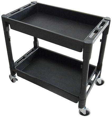 Bon Utility Cart   32u0026quot; X 18u0026quot; X 31u0026quot; Rolling Tool Cart With Wheels