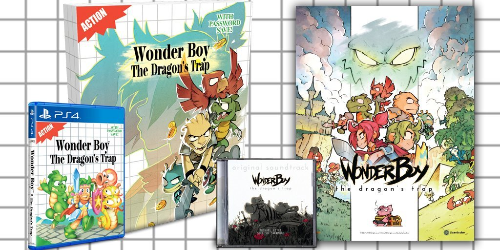 Wonder Boy The Dragon's Trap Collector's Edition Limited Run