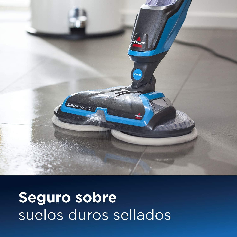 BISSELL SpinWave Mopa eléctrica, Limpiador húmedo de suelos , 105 ...