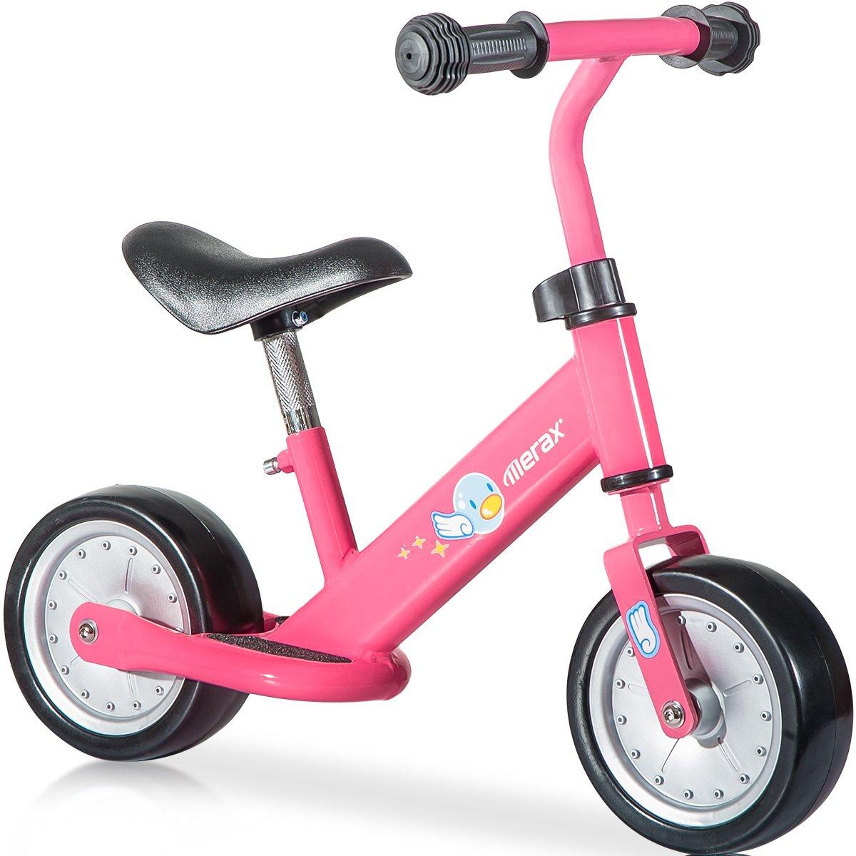 Merax No Pedal Balance Bike Walking Bicycle for Kids (Pink)