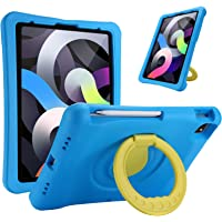 """ProCase Kids Case for iPad Air 4 10.9"""" 2020 / iPad Pro 11 2020 & 2018, Shockproof Rotate Handle Folding Stand Cover…"""