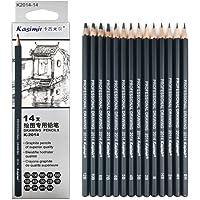 Drawing Pencils 14pcs/set 12B 10B 8B 7B 6B 5B 4B 3B 2B B HB 2H 4H 6H Graphite Sketching Pencils Professional Sketch…