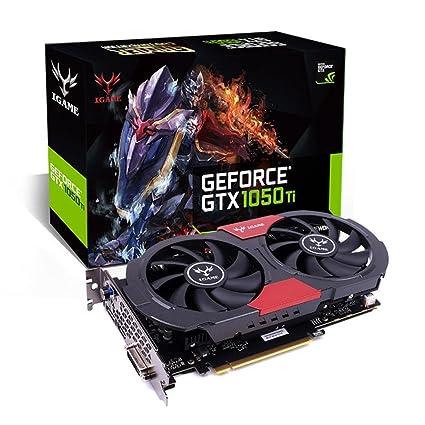 artistic9 (TM) Colorful iGame GTX 1050 Ti GPU 4 GB GDDR5 ...