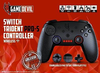 Game Devil Switch PRO-S Controller Wireless - Nintendo Switch [Importación inglesa]